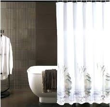grey hookless shower curtain inside extra long design 18