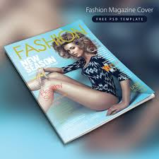 Magazine Cover Design Free Download P Download Fashion Magazine Cover Free Psd Template If You