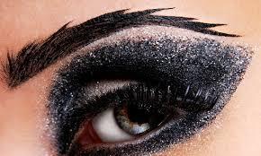 blush eye glitter