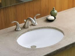 Kohler Bathroom Mirror Bathroom Ideas Brushed Nickel Kohler Bathroom Faucets Above Round