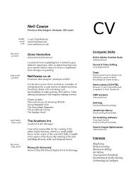Resume Ui Developer Resume