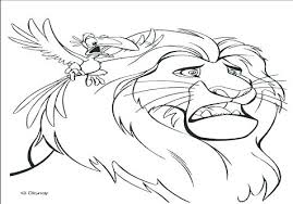 Mufasa Coloring Pages Free Scar Ryanbreauxco