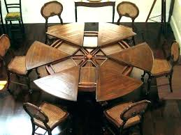 dining table round extendable extendable dining room table round extendable dining table rustic extendable dining table