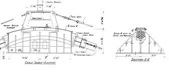 architectural drawings of bridges. Cable Saddle Drawing, 1939 WSA, WSDOT Records Architectural Drawings Of Bridges