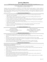 Procurement Resume Sample Resume Samples