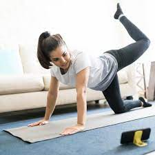 motivated to work out at home?
