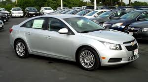 2011 Chevy Cruze Eco, 44/mpg, Silver Ice Met., O'Donnell Chevrolet ...