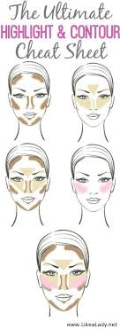 a guide that every lady can use contouring take your makeup to the next