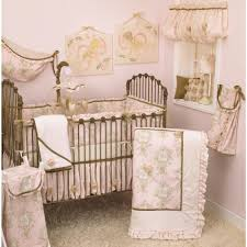 cotton tale designs lollipops and roses pink toile 4 piece crib bedding set
