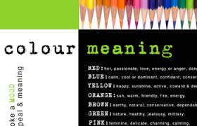 Visual Literacy Definitions Visual Literacy Colour Meaning Poster