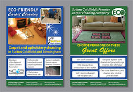 carpet cleaning flyer modern feminine flyer design for sutton coldfield dairies by aq3