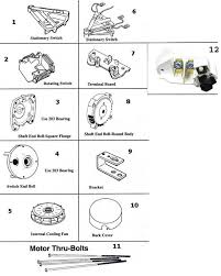 a o smith a o smith motor parts replacement part schematic ao smith motor wiring diagram for c56a20a19 a o smith motor parts schematic