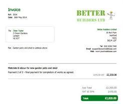 Generic Invoice Form Luxury 25 Best Carpenter Invoice Templates ...