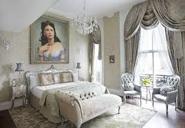 Parisian Style Bedroom With Luxury Seats