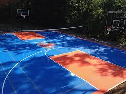 basketball vinyl tile system