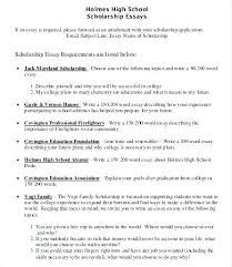 College Scholarship Essay Examples Of College Scholarship Essays Scholarship Essay Examples