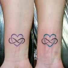 Mother Daughter Matching Eternal Love Tattoos татуировки на