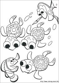 Nemo Coloring Page Finding Coloring Page Finding Coloring Pages
