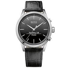 hugo boss watches boss watches uk ernest jones hugo boss men s stainless steel smart watch product number 4966481
