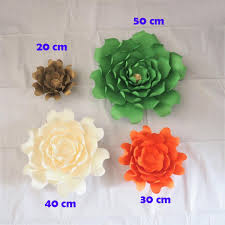 2018 giant paper flowers artificial rose diy large paper rose wedding event backdrop baby nursery with tutorials 4 size optional from