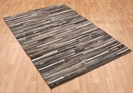 asiatic gaucho stripe dark grey rugs