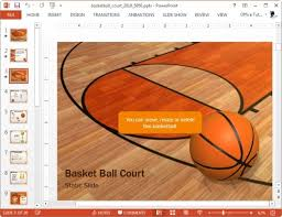 Basketball Powerpoint Template Free - Fast.lunchrock.co