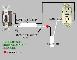 switch wiring diagram outlet switch image wiring wiring diagram switched outlet the wiring diagram on switch wiring diagram outlet
