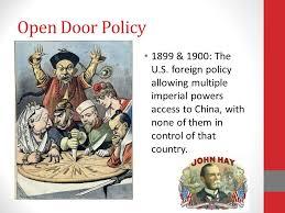 open door policy imperialism. Open Open Door Policy Imperialism N