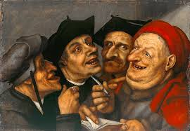 The Purchase Contract Painting By Quentin Matsys
