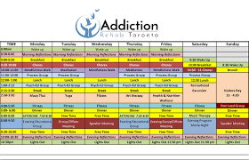 Typical Day At A R T Addiction Rehab Toronto