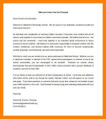 letter from principal to parents free wel ing letter to parents from principal