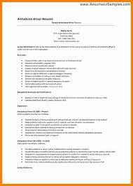 Cv For Driver Job 8 Cv Sample For Driver Theorynpractice