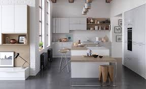 modern contemporary zola gloss kitchen in white light grey