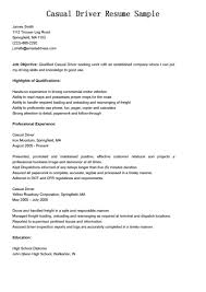 Simple Resume Sample Cdl Driver Resumeamples Resumes Sample Templates Docs Outlines 46