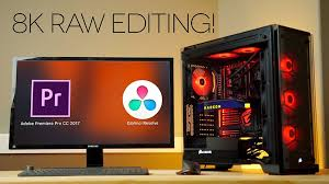 16 core threadripper 8k editing workstation for premiere pro cc and davinci resolve 4k shooters
