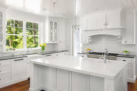 kitchen remodel white modern cabinets white
