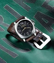 harrods hosts an exhibition of rare panerai watches on loan from the panerai radiomir watch was inspired by more recent timepieces which will also be on display