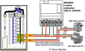 220v pool pump wiring diagram 220v image wiring how to wire ca3750 z wave contactor zwave basics on 220v pool pump wiring diagram