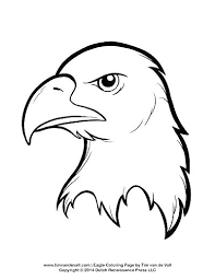 Bald Eagles Coloring Pages Eagle In Nest Page Awesome Inspirational