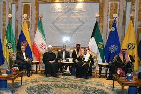 Image result for سمو أمير الكويت يستقبل الرئيس الإيراني