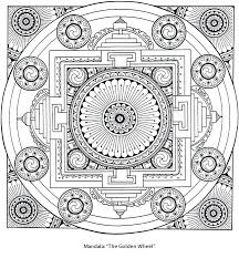 Mandala Designs To Color Mandala Coloring Pages Best Dharma Images