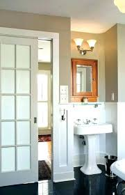frosted glass pocket door for bathroom knobs and doors to sliding inside ideas 15