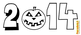 Halloween 2014 Dessin Date Imprimer Dessins Citrouille Coloriage