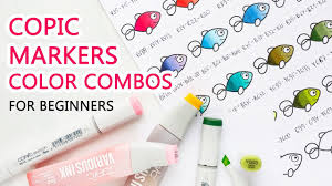 Copic Markers Color Combos For Beginners