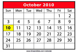 Julian Date Calendar 2010 October 10 2010 10 10 10 Explained