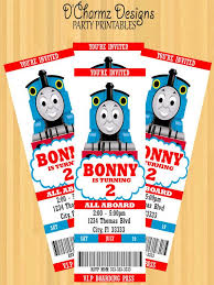 Thomas The Train Party Invitations For Simple Invitations Of Your