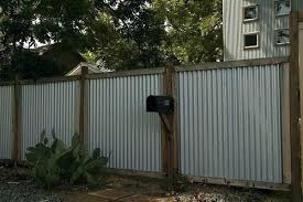 corrugated metal fence panels nz fundacionsosco corrugated metal fencing corrugated metal and wood fence cost corrugated metal fence