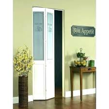 interior bifold doors with glass panels solid pantry wood oak closet frosted