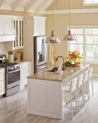 the quartz countertops feature beautiful veining and rich depth of color designed to coordinate well with a variety of martha stewart living cabinetry