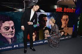 all photos of rami malek in front of the mr robot tumblr fan art wall have been added to the gallery on mr robot wall art with rami malek online rami malek online 1 leading reliable rami